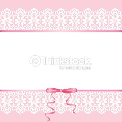 Prewalker Baby Renda Pink lace on pink background vector thinkstock