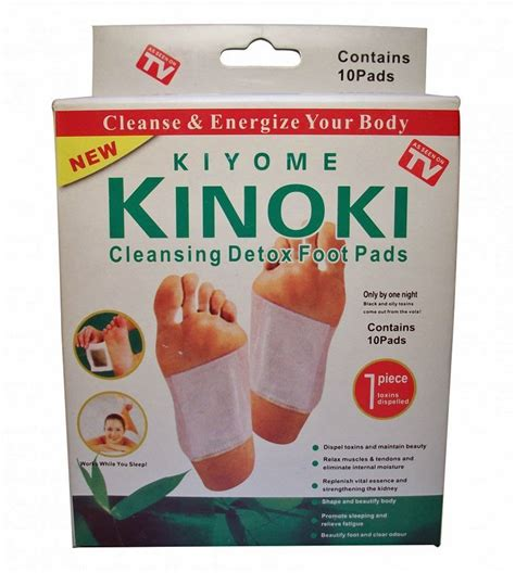 Relief Detox Foot Pads by Other Homeopathic Remedies Kinoki Detox Foot