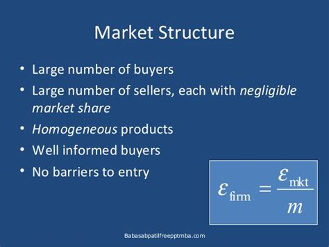Business Notes For Mba Ppt by Micro Economics Business And Competitive Markets Ppt Mba