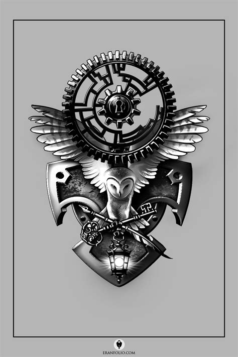 gears tattoo designs gears by eranfolio on deviantart