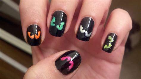 easy nail art halloween halloween nail art designs acrylic nail designs