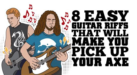 make up your own riffs 8 easy guitar riffs that ll make you pick up your axe