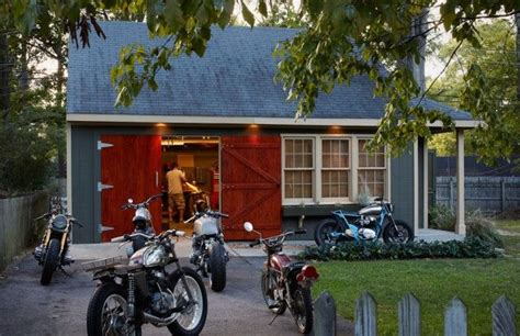 Motorcycle Garage by Garage Design Motorcycle Garage Garage