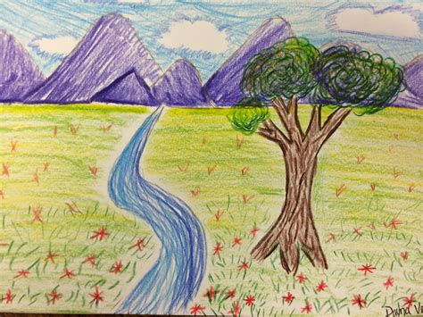 draw landscapes in colored pencil the ultimate step by step guide books mrs wille s room step by step landscape drawings