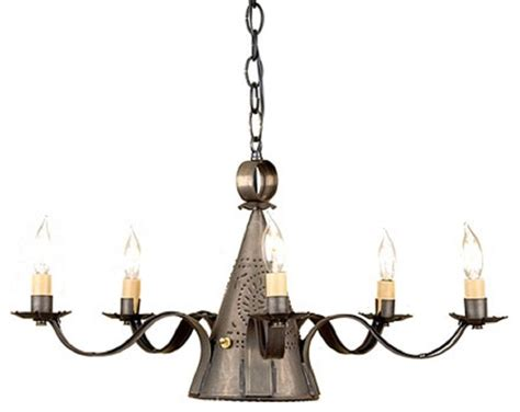 Punched Tin Candelabra With Center Down Light Where Can I Buy Lights