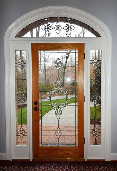Leaded Glass Front Door Inserts Front Doors Cool Leaded Glass Front Door 44 Stained Glass Entry Doors Custom Made White