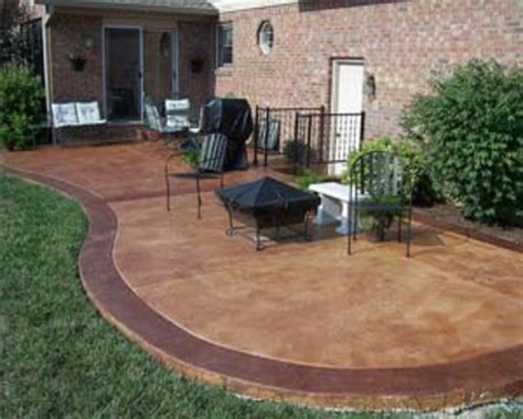backyard concrete patio ideas best stained concrete patio design ideas patio design 305