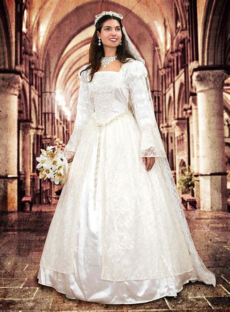 Wedding Dress Costume by Costume Wedding Dress With Lace Thevikingstore Co Uk