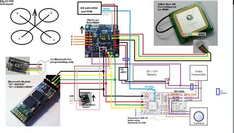 wiring diagram for naza quadcopter aro wiring diagram