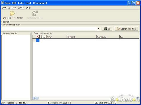 Dbx Tool free open dbx file open dbx file 1 0