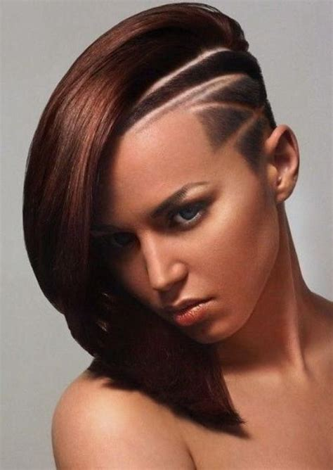 1000 ideas about half shaved hairstyles on pinterest 20 best ideas of half long half short hairstyles