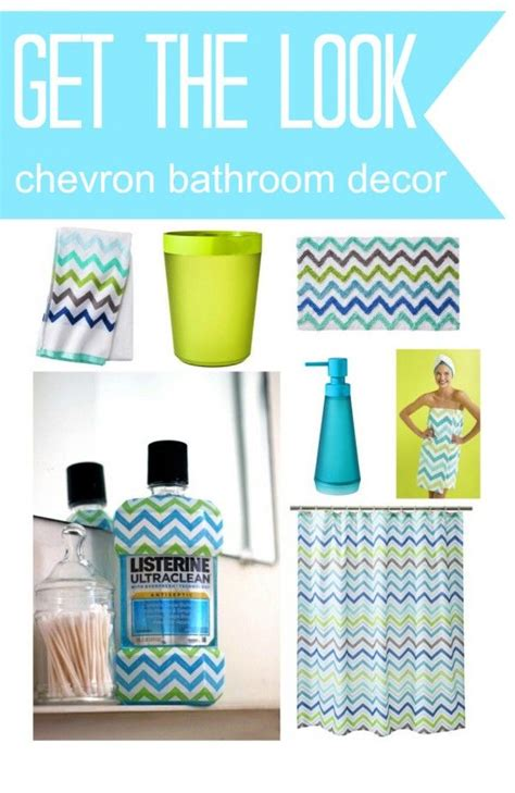 chevron bathroom ideas best 25 chevron bathroom ideas on turquoise