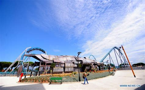 theme park rome italy s first film theme park opens in rome china org cn