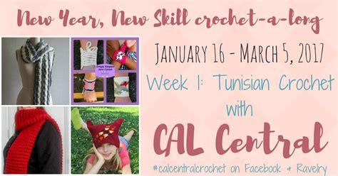 new year one week new year new skill cal week 1 tunisian crochet