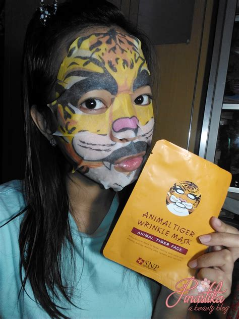 Nuface Mask Sheet pinastika snp animal sheet mask review