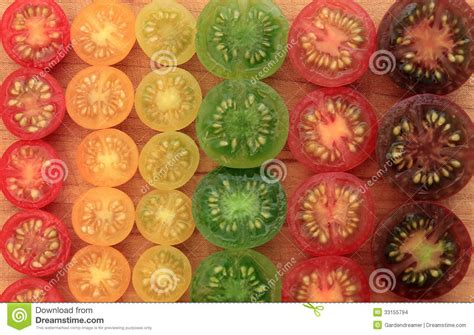Colorful Cherry Tomato Background Stock Images   Image