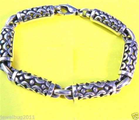 retired avery sterling silver elephant link bracelet ebay 1000 images about avery on brooches and jewelry watches