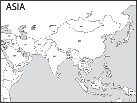 Asia Rivers Outline Map by Best Photos Of Printable Political Map Of Asia Printable Blank Map Of Asia With Countries