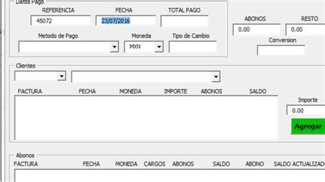 formato mltiple de pago youtube cuentas por cobrar en excel cobranzafx 4 0 youtube