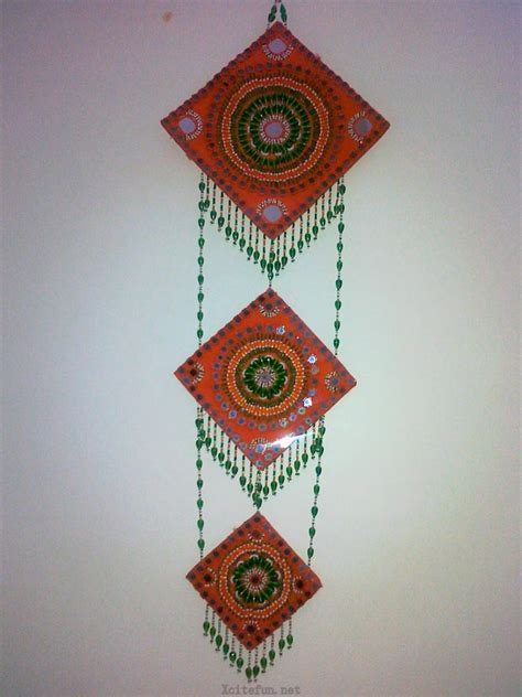 How To Make Handmade Wall Hanging - colorful handmade creative wall hanging xcitefun net