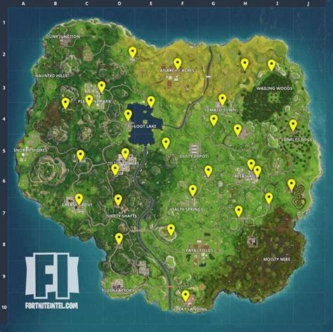 where fortnite letters are located fortnite vending machine locations how to find a