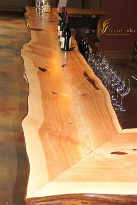 bar top edge 25 best ideas about live edge slabs on pinterest live