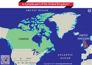 is canada part of the united kingdom answers