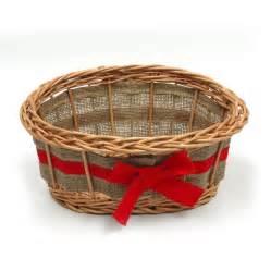 Empty Gift Baskets Empty Wicker Gift Basket Ribbon By Prestige Wicker