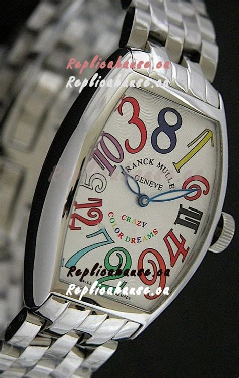 Franck Muller Infinity Colour Dreams White franck muller color dreams japanese replica in white shipping from canada for