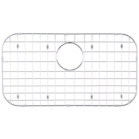 Sink To The Bottom Chords by Glacier Bay Stainless Steel Sink Grid Fits Single Bowl