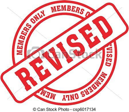 art work revised 1501146165 eps vector of revised word st revised in vector fromat csp6017134 search clip art