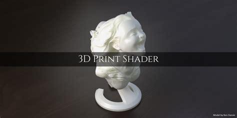 blender tutorial for 3d printing blender market 3d print shader blendernation