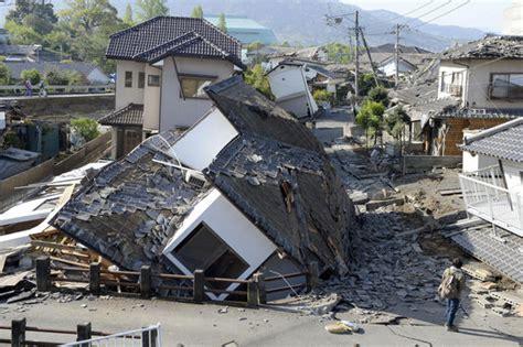 imagenes terremoto en japon 2016 nouveau s 233 isme meurtrier dans le sud ouest du japon