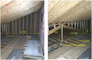 Garage Storage Joists Is My Attic Floor My Garage Strong Enough To Use It