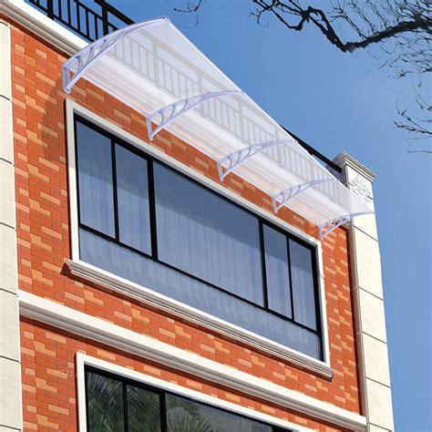 Window Door Awning Window Door Canopy Awning Sun Shade Hollow Sheet Garden