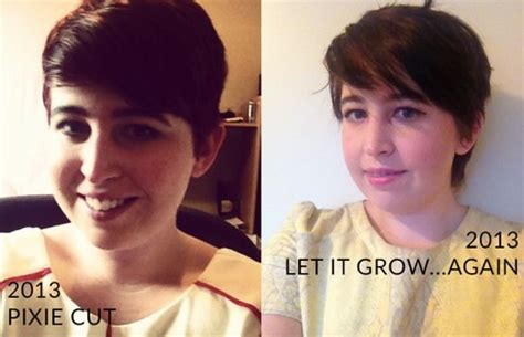 pictires of growing out a pixie growing out a pixie cut pictures