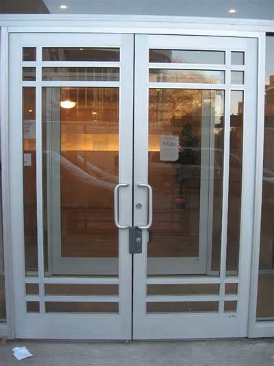 industrial front door commercial entrance doors exterior aluminum entry door