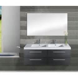 meuble vasque 140 meuble vasque saturn 140cm gris achat vente