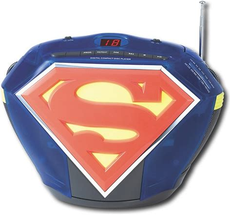 Cd Superman station toys superman cd boombox with am fm radio
