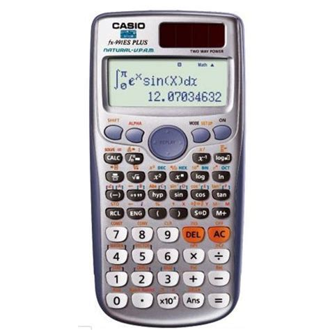Casio Kalkulaor Scientific Fx 991 Id Plus Garansi Resmi 1 Tahun Casio pics for gt casio calculator fx 991es