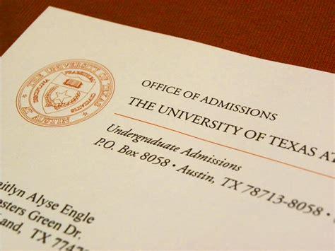 Acceptance Letter Ut Supreme Court Arguments Abigail Fisher V