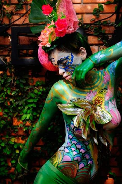 body art international body art competition on thailand health and beautiful