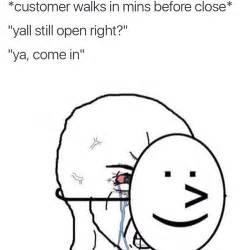 Smiling Crying Face Meme - retail meme tumblr