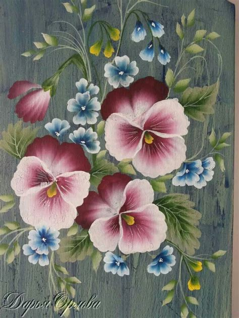 one stroke flowers painting free pattern image search and donna dewberry on