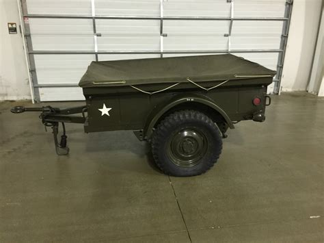 jeep utility trailer m100 jeep trailer
