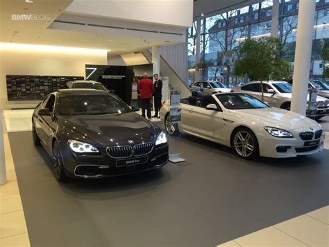 bmw dealership bmw m cars wait for their newest family member
