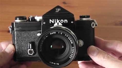 nikon f black nikon f with eye level prism how to meter