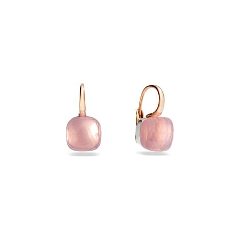 orecchini pomellato nudo pomellato earrings nudo in pink lyst