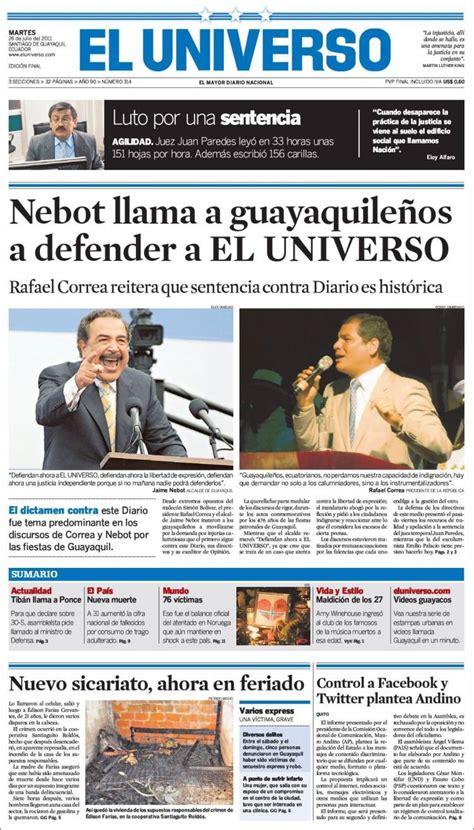 noticias en ecuador el universo noticias de ecuador y del mundo april 2018
