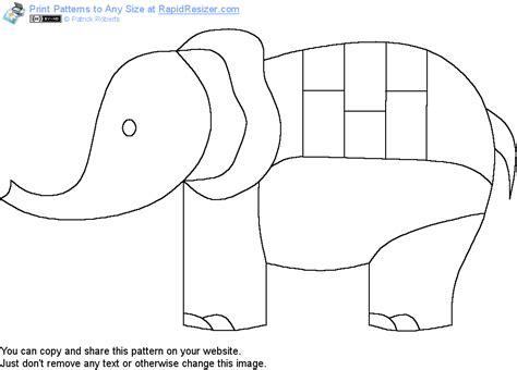elephant pattern image free circus elephant pattern
